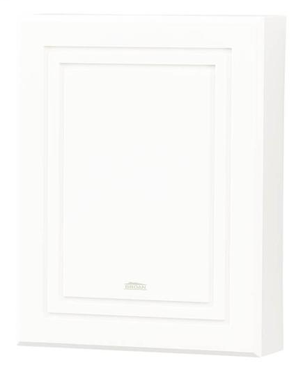 NUTO LA100WH MOLDED WHT FINISH RECESSED GROOVES