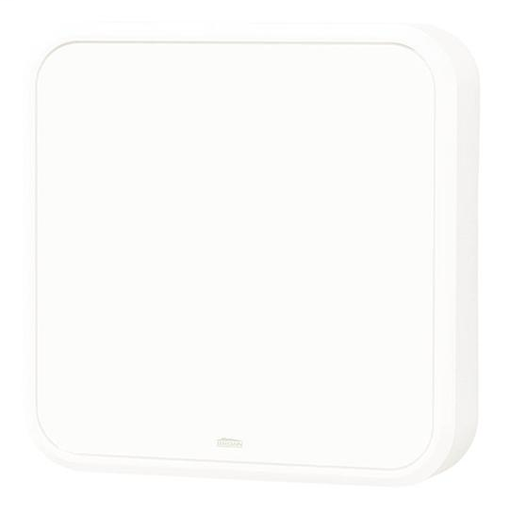 NUT LA202WH WHITE W/ROUNDED CORNERS