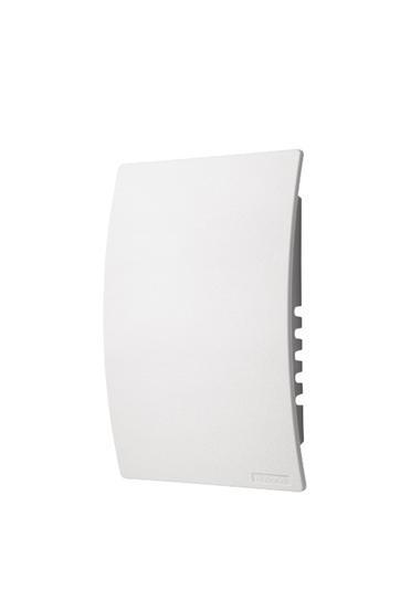 "Universal Wired/Wireless MP3 Doorbell Mechanism, 6""w x 9-1/2""h x 2-1/4""d in White"