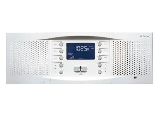 Master Station Intercom, 15-1/4w x 5-5/16h x 3-3/8d, Projects 1-1/8 from wall surface in White