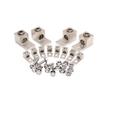 High Strength Aluminium Alloy Tranformer Lug Kit, #6 - 250 kcmil, Tin-Plated.