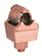 Burndy QGFL39B1T6 350 to 750 MCM Copper Single Eyebolt to Bar Cable Tap Connector