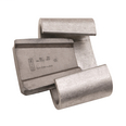 Burndy WCY103 1.302 Inch Run or Tap Yellow Booster Aluminum Alloy Wedge Tap Connector
