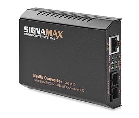 Mayer-10/100BaseT/TX to 100BaseFX Media Converter SC/MM, 2 km Span-1