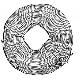 CULLY 71001 Galvanized Tie Wire 16-1/2ga, 450ft Roll