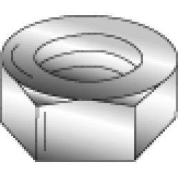 Minerallac 39516 405-Piece Zinc Plated Steel Hex Nut Kit