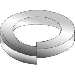 Minerallac 39517 425-Piece Zinc Plated Steel Lock Washer Kit