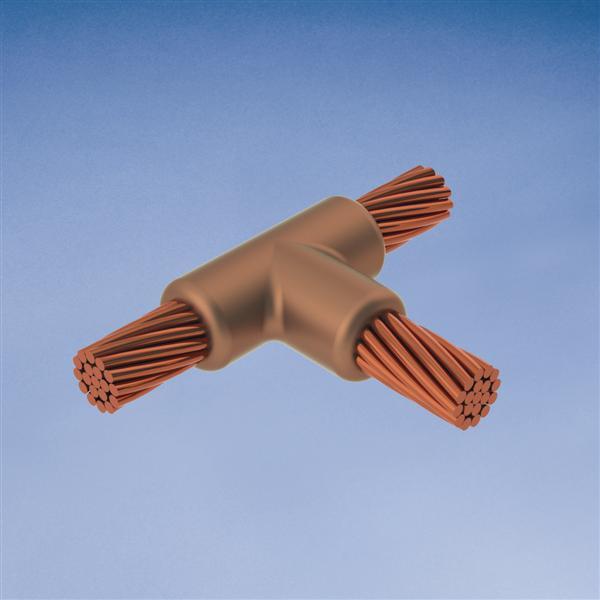 CAD TAC3D3D MOLD,CABLE,HORZ TEE