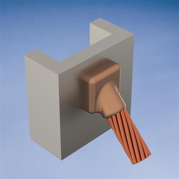 ERC VSC2LV21C MOLD,CABLE TO VERT ST