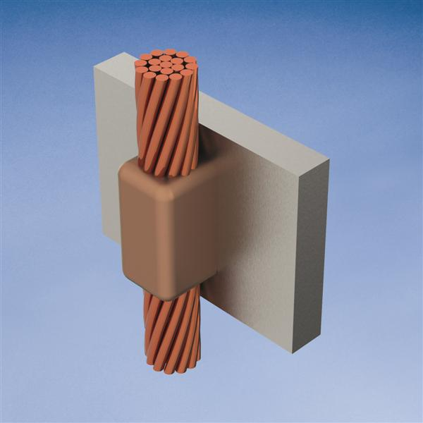 ERC VVR2Q MOLD,CABLE TO VERT STL,VE
