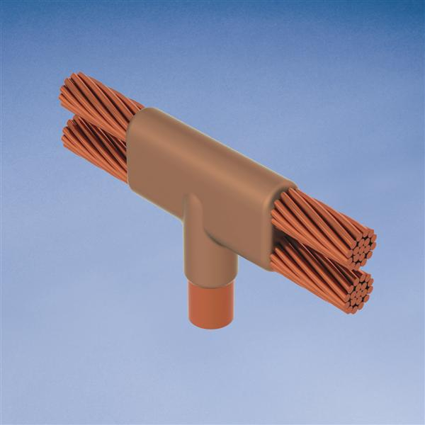 ERC NDR182G MOLD,CABLE TO GRD ROD,H