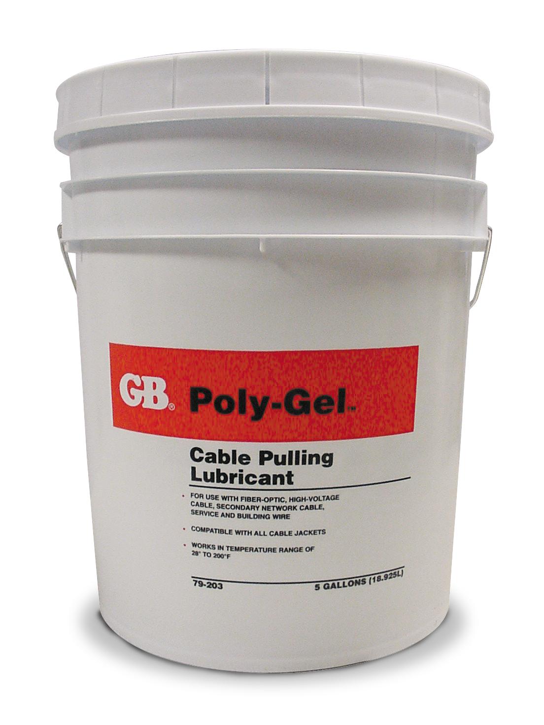Gardner Bender 79-203 5 Gallon Bucket Poly-Gel Pull Lube