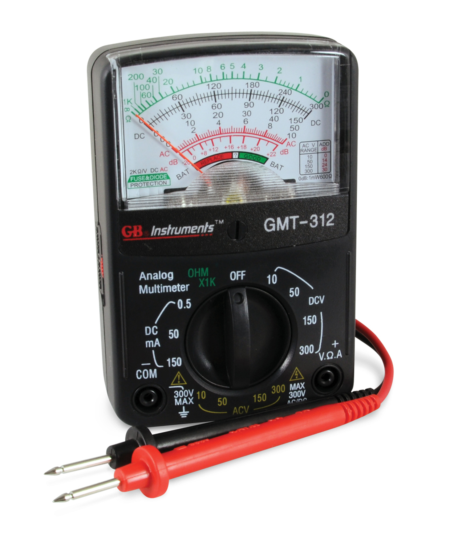 5 Function Analog Multimeter