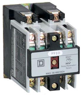 SQD 8501XO40V08 RELAY 600VAC 10AMP