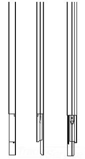 WIR 25DTC-E5 BLANK TELEPOWER POLE 5' EXTENDER
