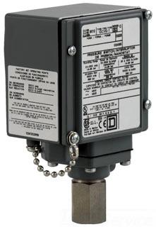 SQD 9012GFW1 PRESSURE SW SPDT 20-1000psi