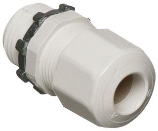 """ARL LPCG507W 1/2"""" .385/.750 CRD CONN WHITE"""