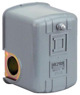 SQD 9013FHG44S175J59X1C16 1HP 575V AC F OPTIONS PRESSURE SWITCH