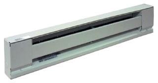 TPI H2912-060S-WH 5' 1250W 240V WHITE BASEBOARD