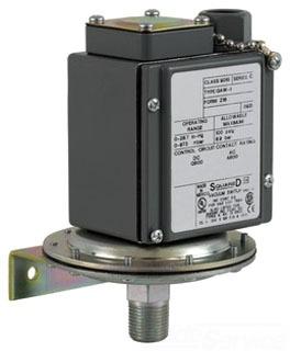SQD 9016GAW21 VACUUM SWITCH 480VAC +OPTIONS
