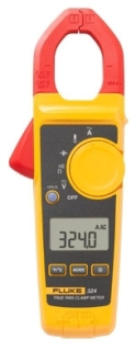 FLUK FLUKE-324 400A AC TRUE RMS CLAMP METER W/TEMP