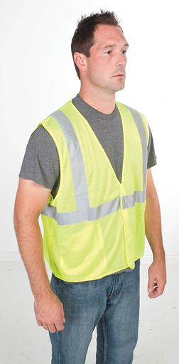NS GREE 01761-01M VEST, HI-VIS TRADESMAN, CLASS 2, S/M ( ITEM IS DISCONTINUED AND NO REPLACEMENTS)