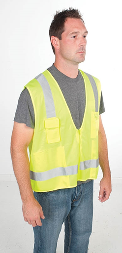 GREE 01761-03L VEST, HI-VIS SURVEYOR, CLASS 2, L/XL