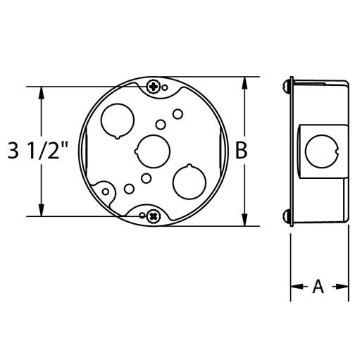 Round Ceiling Box Dimensions Integralbook Com