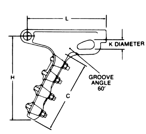 anderson sd112s dead end shoe pistol grip socket conductor