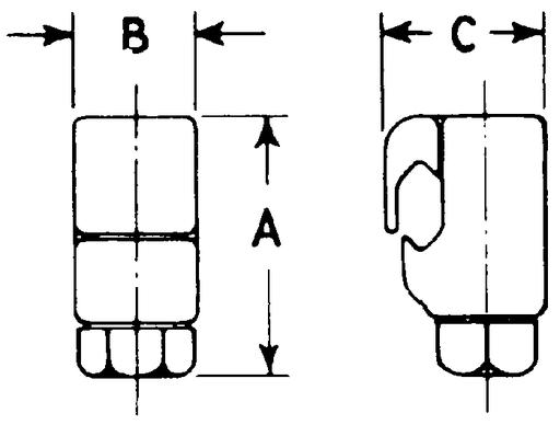 FARGO GC5040 VICE TYPE CONNECTOR