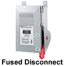 Hubbell Fds30 30a Fused Disconnect Switch