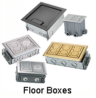 Hubbell Pfbrg2 2gang Pvc Plastic Rectangular Floor Box