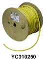 Hubbell YC312250 Marine POWER CABLE, 12/3 STO, 250', YL