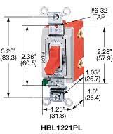 HWDK HBL1221PLU SP TOG, IND GRD 20A