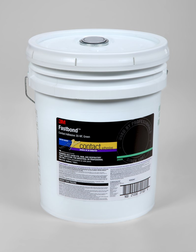 Fastbond Contact Adhesive Green 5 gal.