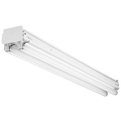 LITHONIA UND296HO120-ESCW20 2LAMP 8FOOT T12 HO FLUORESCENT STRIP ...