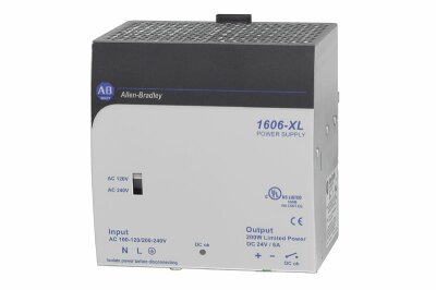 AB 1606-XLDNET8 Standard Power Supply (for DeviceNet), 24V DC, 192 W, 120/240V AC / 110-300V DC Input Voltage !! REPLACES 1787DNPS !!