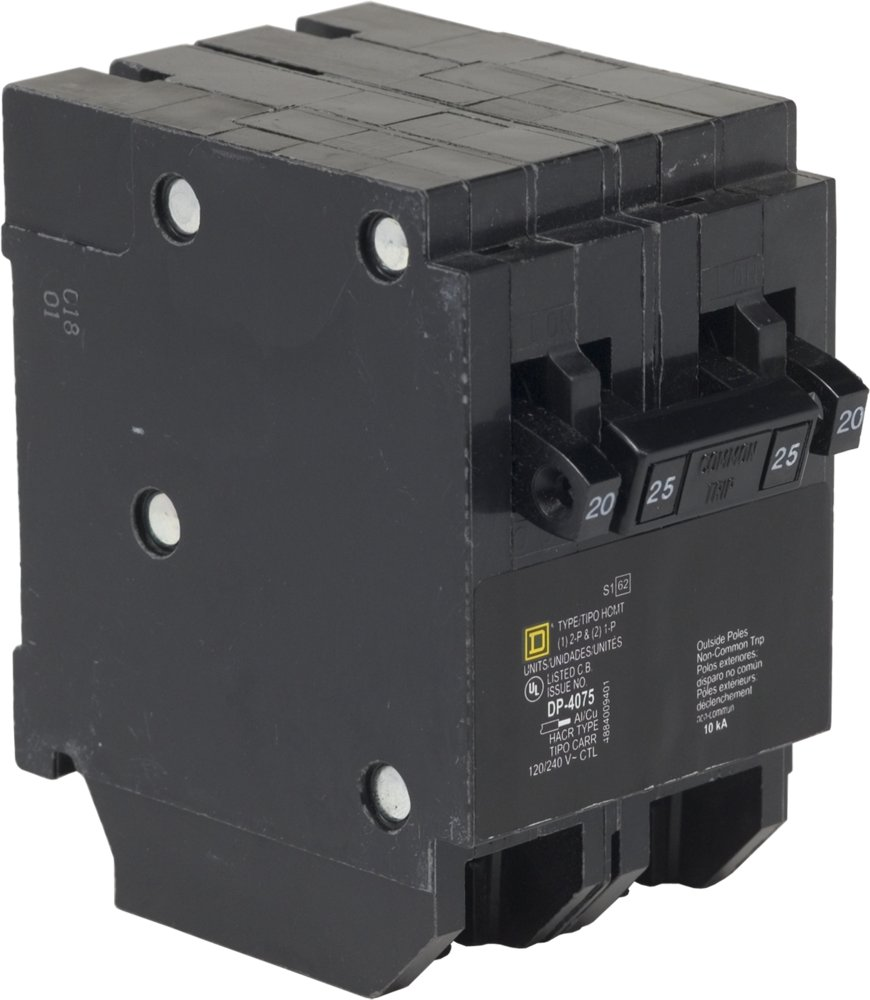 Sqd Hom2175bb 2pole 175 Amp Breaker Installing Gfci Afci Circuit Protection Square