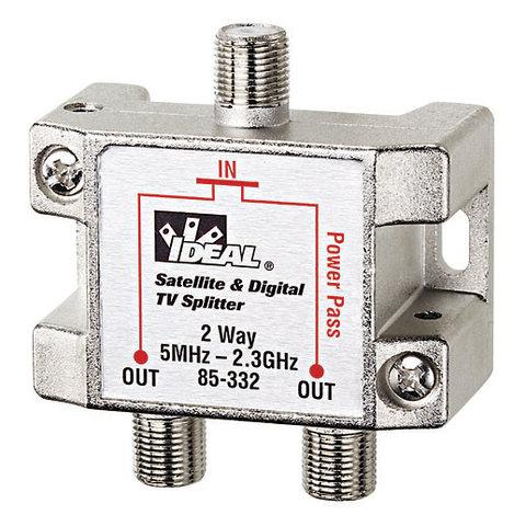 2-Way, HD Digital Cable / Satellite Splitter, 5MHz - 2.4 GHz