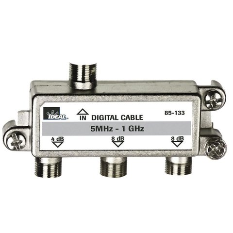 3-Way, Digital Cable Splitter, 5 MHz - 1 GHz