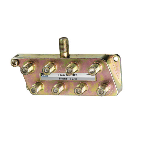 8-Way, Digital Cable Splitter, 5 MHz - 1 GHz