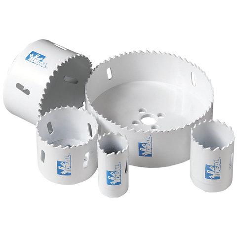 IDEA 35-378 Hole Saw,Ideal,IRONMAN,Bi-Metal,3-5/8 IN Hole Diameter,Cutting SZ: 1-3/8 IN D