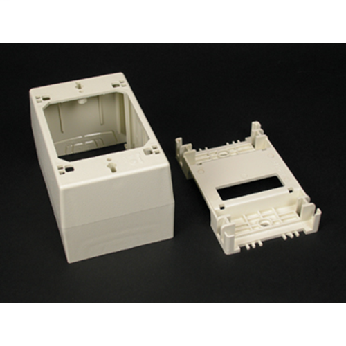 WIREMOLD 2348-WH SWITCH BOX 1GANG DEEP DEVICE BOX WHITE