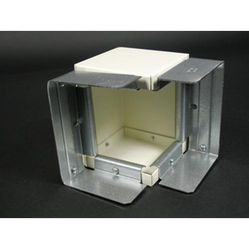 Wiremold G6017TX 3-1/2 Inch Gray Steel Multiple Channel Raceway Combination Internal or External Elbow
