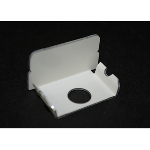 Wiremold WH2010B White Steel Blank End Fitting