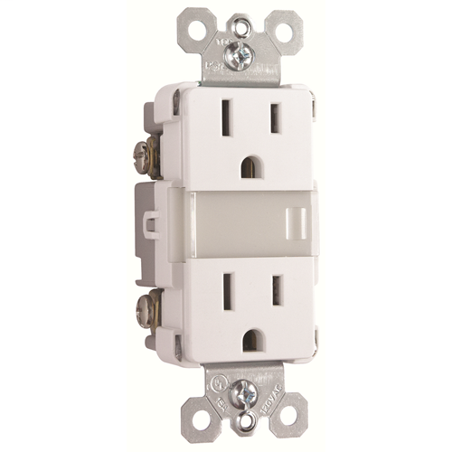 PAS NTL-885TRWCC6 DSICTONINUED N LITE+2 15A TR OUTLETS+LOUVR