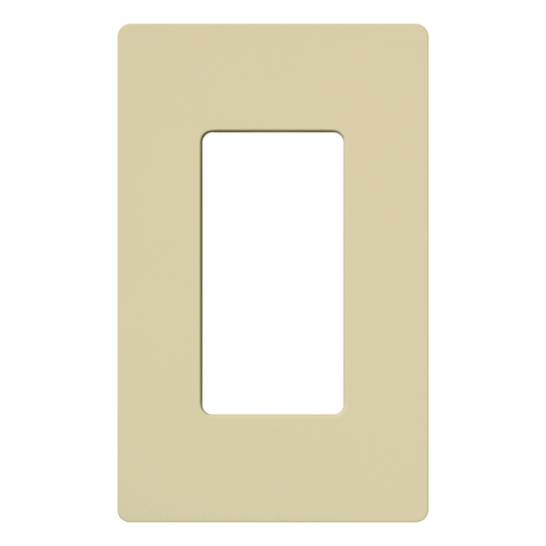 LUT CW-1-IV WALL PLATE IVORY