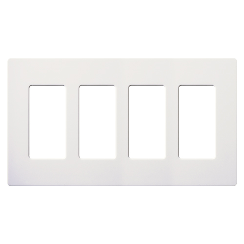 LUT CW-4-WH WALL PLATE