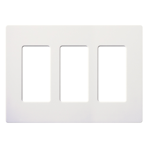 LUT SC-3-SW 3-GANG WALL PLATE