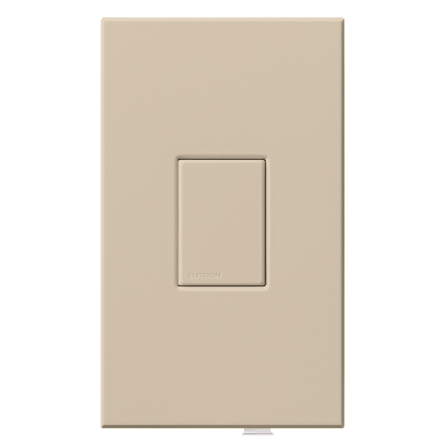 Vareo TapSwitch, Incandescent/Halogen, Magnetic Low-Voltage, Fluorescent Switching with Magnetic Ballasts, Auxiliary tapswitch, 120V in taupe